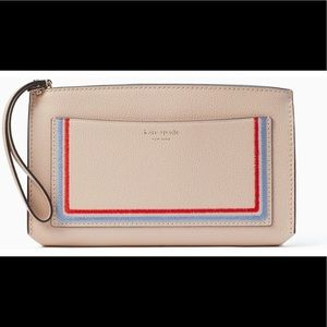 Kate Spade Eva Embroidered Wallet Clutch🆕 🚫 tags